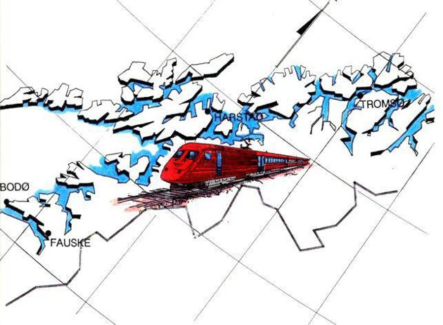 I Evigheten: Når det blir påstått at den riks politiske ledelse i Rikshovedstaden Oslo tar evigheten til hjelp for å hindre utbygging av jernbane i Nord-Norge, ser det unektelig ut til å ha en gehalt av riktighet, skriver Terje Karlsen. Illustrasjonsfoto