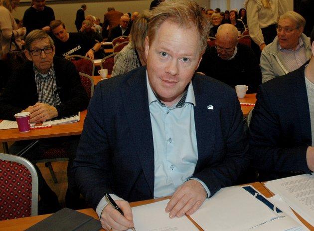 NY GIV?: Odvar Møllerløkken fremmer kritiske krav til egen regjering.