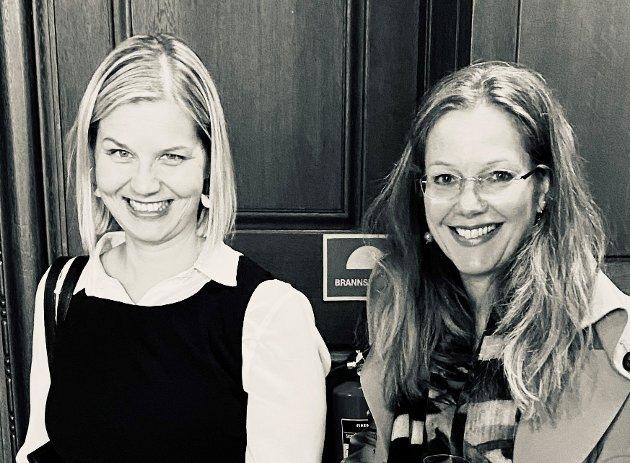 Guri Melby og Anja Johansen