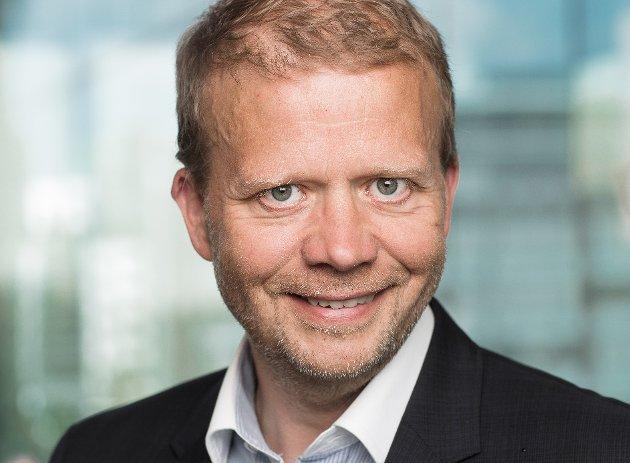 Regiondirektør i NHO Østfold, Roald Gulbrandsen