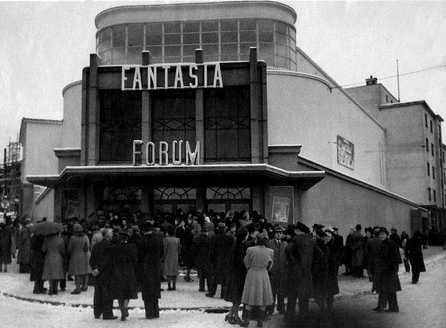 Forum kino i åpningsåret 1946.