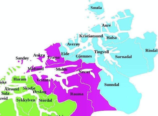 - Kommunene kan vel bestå som i dag med tilhørighet og naturlige justeringer, skriver Annbjørn Knutshaug.