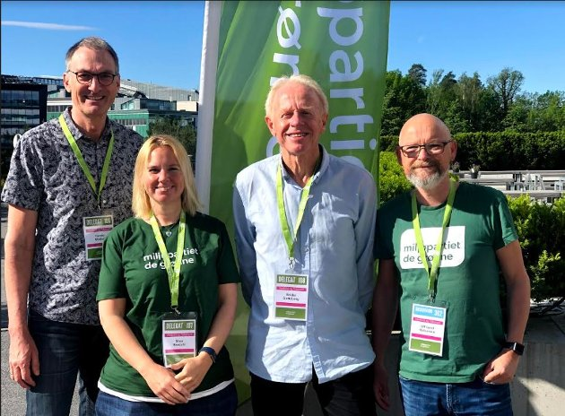 Fra venstre: Harald Moskvil, Nina Brodahl, Reidar Gotteberg, Ulf Lund Halvorsen