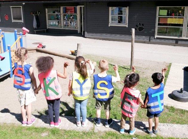 STENGER: Skyset FUS barnehage har vært i drift siden 1992, men nå stenges dørene for godt.