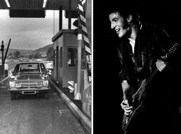 BOMMEN ALLE PASSERTE: «Selv Springsteen kjørte trolig gjennom Drammen Turnpike, på vei til konsert i Drammenshallen 5. mai 1981», skriver Sven Ove Bakke.
