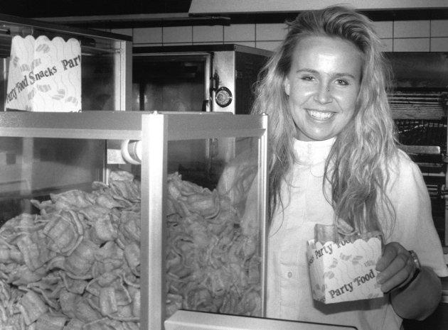 Ferjekroa ved ferjeleiet i Moss, Janne Stene, 1992.