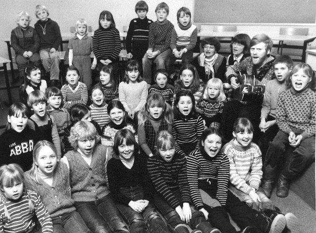 Grindvold barnekor, Moss, 1981.