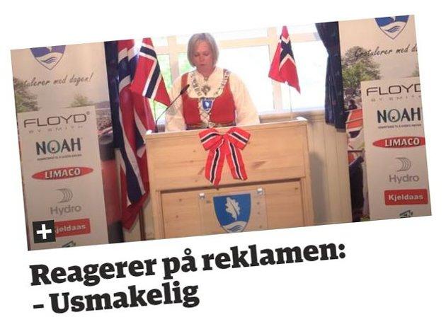 """FIKK KRITIKK: Lokalpolitiker Jan Fredrik Vogt kritiserte ordfører Elin Weggesrud for å ha """"kommersialisert"""" 17. mai-feiringen."""
