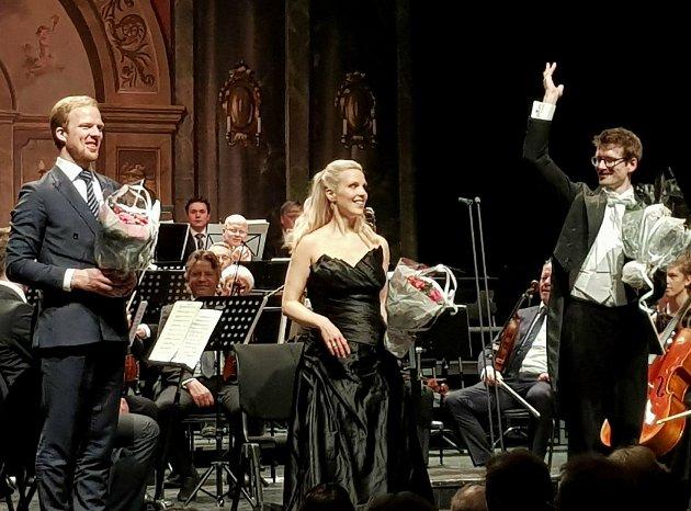 Rønning Kvam, Amelie Aldner og Erik Aldner,