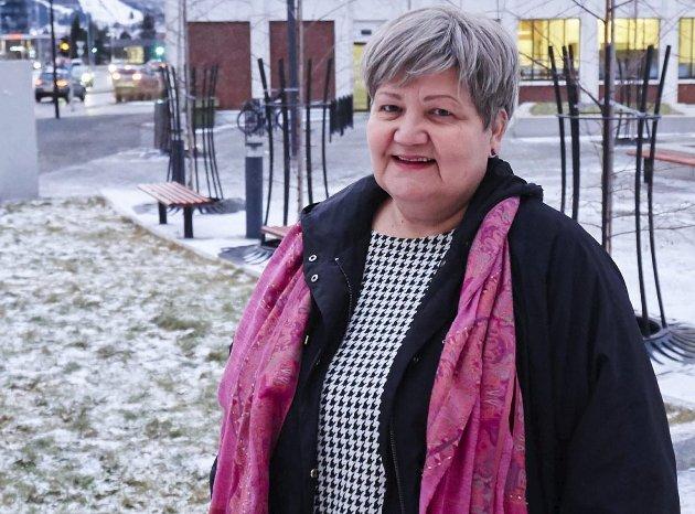 Høyres ordførerkandidat i Narvik, Ann-Tove Dalhaug.