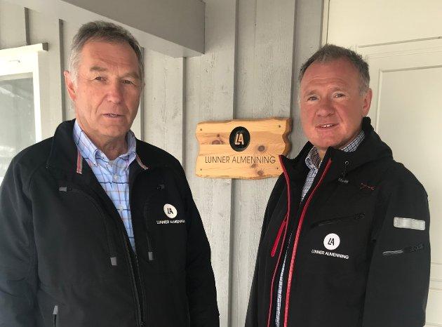 MØT OPP PÅ ÅRSMØTE: Oppfordingen kommer fra styreleder Andreas Høiby og allmenningsbestyrer Johnny Gangsø, i Lunner Almenning.