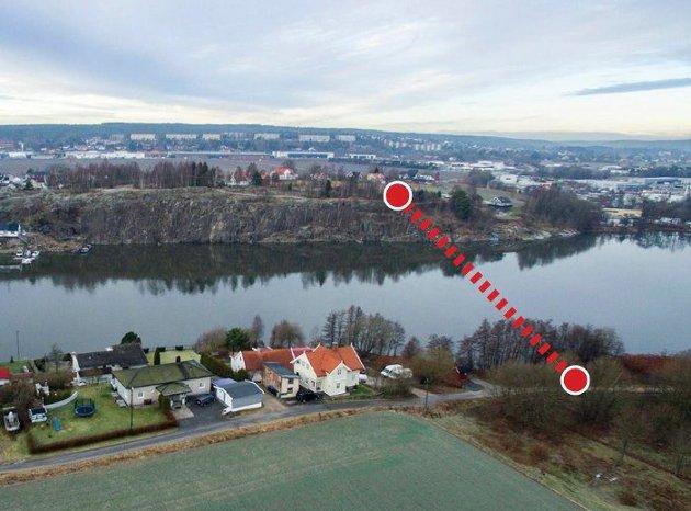 En ny bru mellom Moum og Rolvsøy ligger inne i bypakka. Kan den komme før ny Sarpsbru?