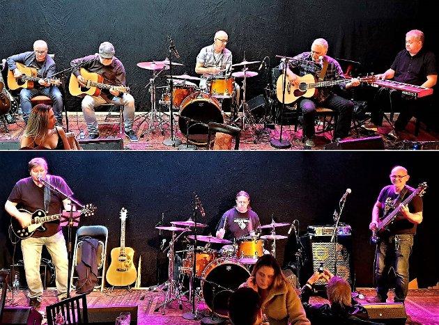 På ett brett: Ernst & Jång og Tom. R Band.