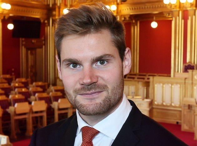 Nils Kristen Sandtrøen, landbrukspolitisk talsperson i Arbeiderpartiet. (Foto: Arbeiderpartiet)