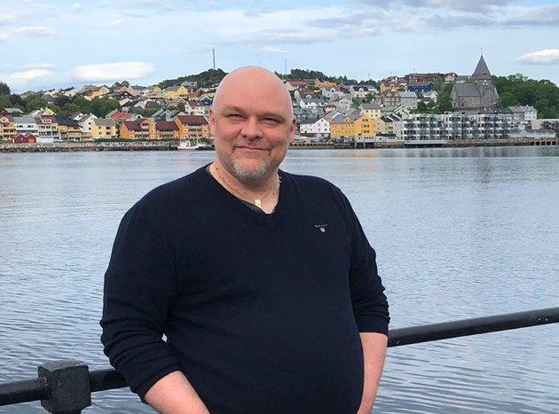 Stig Anders Ohrvik er ordførerkandidat for Nordmørslista i Kristiansund og andrekandidat ved fylkestingsvalget. Foto: Inger Johanne Ohrvik