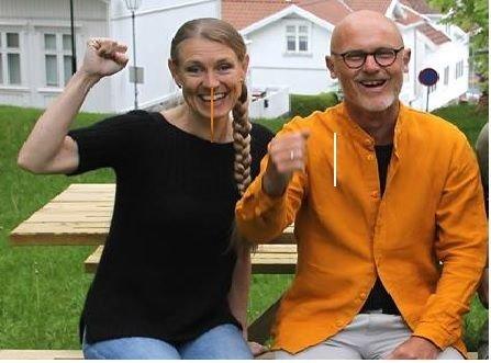 Grete Wold og Lars Egeland