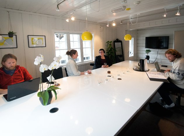 NY TID: - Coworking er den nye normalen, en stor industri som har snudd det tradisjonelle arbeidslivet på hodet. Ill.foto fra BETA i Vågå.