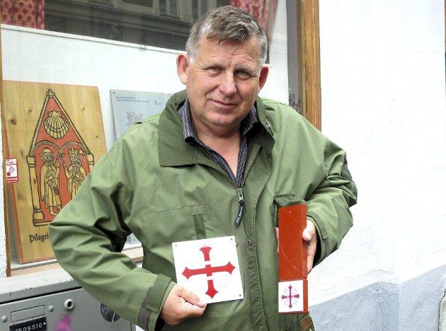 Pilegrim: Eivind Luthen er engasjert på mange områder, blant annet i pilegrimsveiene.