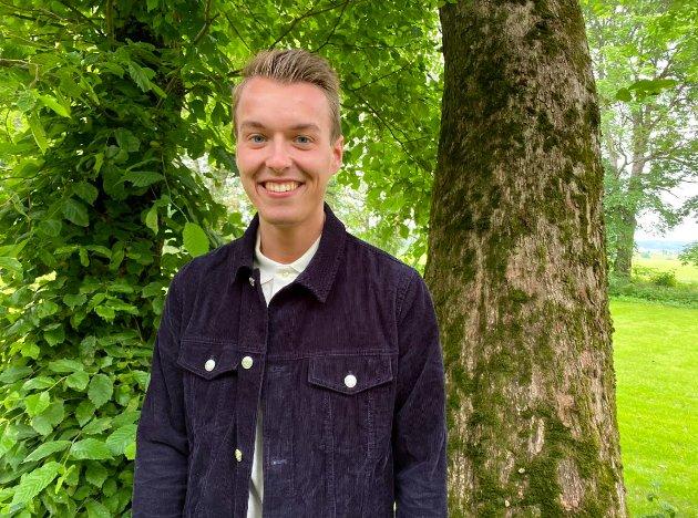 Stortingskandidat for Østfold Senterparti, Lars Vegard Fosser