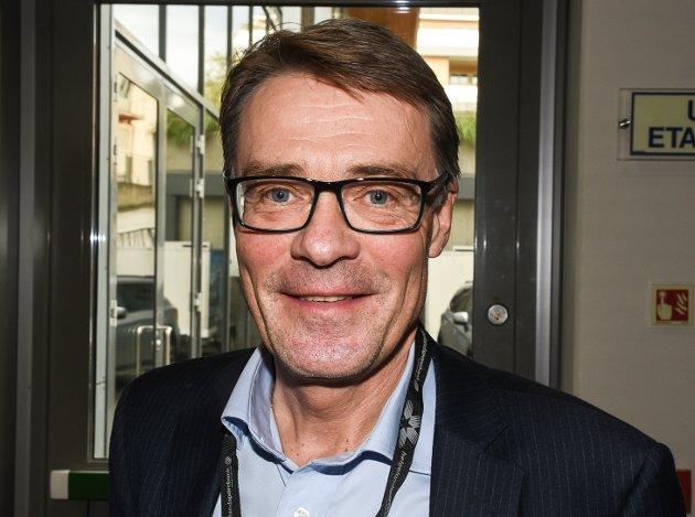 Geir Arne Glad (58), administrerende direktør og sjefsredaktør i Helgelendingen: