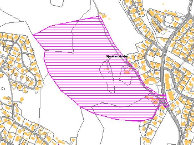 Planområdet som kalles Sagstuatoppen i Ytre.
