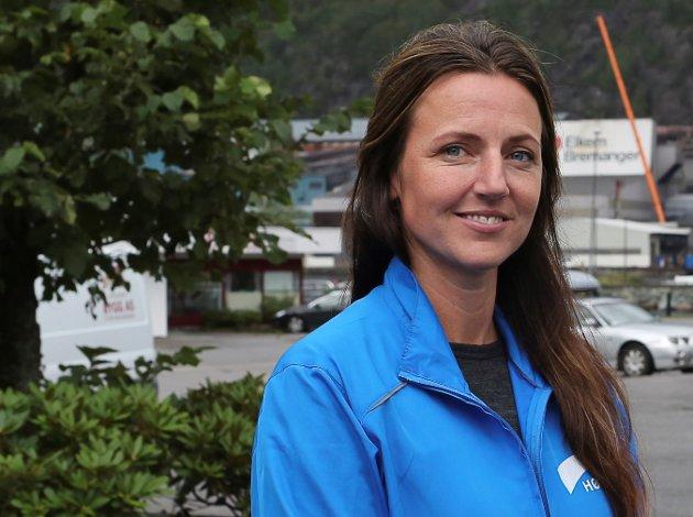 PÅ STORTINGSLISTA: Elisabeth B. Hatlenes frå Bremanger er Høgres 3. kandidat ved haustens stortingsval.