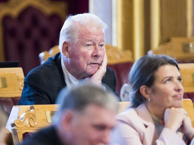 Jubel?: Carl I.Hagen som listetopp for Frp i Oppland?
