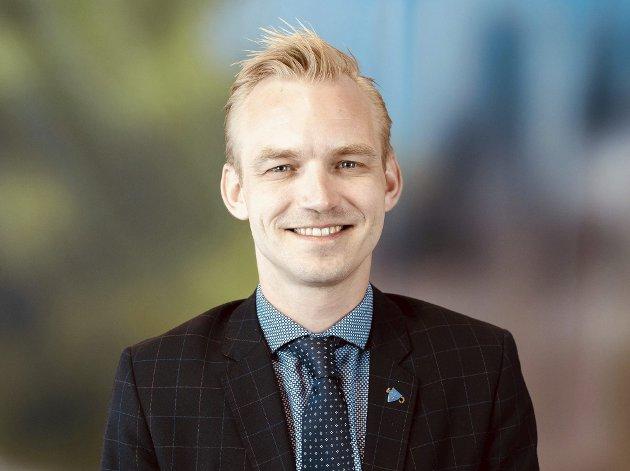 DEN NESTE ORDFØREREN? Adrian Tollefsen.