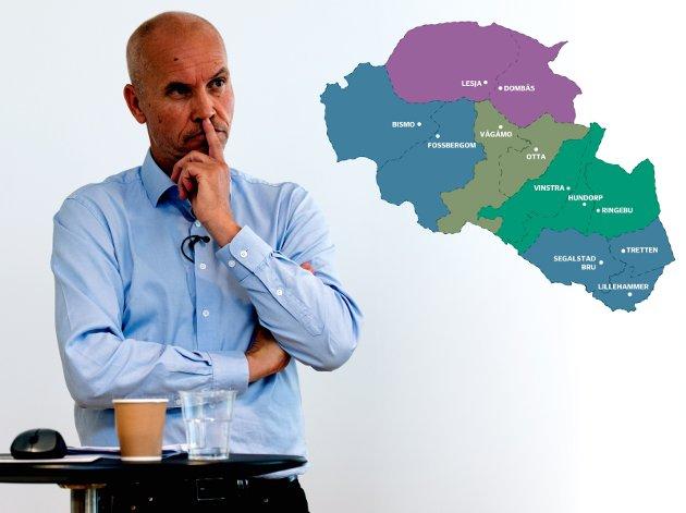 Reform: Fylkesmann Sigurd Tremoen har anbefalt kommunesammenslåinger, og han gjør det fortsatt.