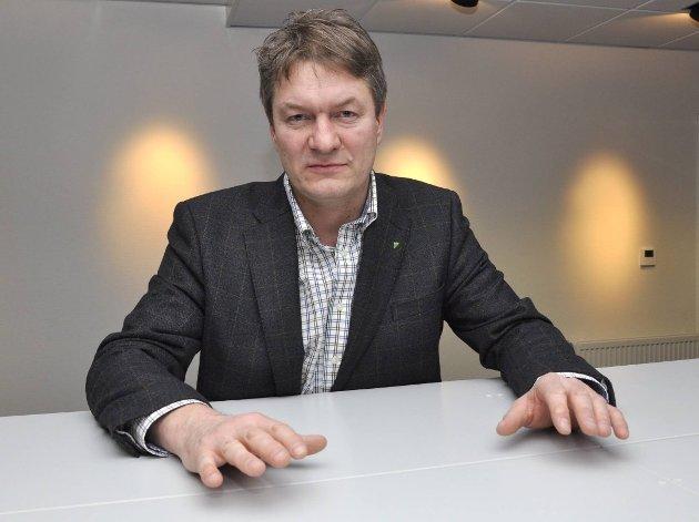 Bjørn Bech-Hanssen ble valgt til styreleder i KF Bygg. Rana Blad mente da dette ble kjent at hans stilling som eiendomsdirektør i Helgelandssykehuset ikke lar seg kombinere med et betalt verv. Nå har han selv trukket seg fra vervet. Foto: Arne Forbord