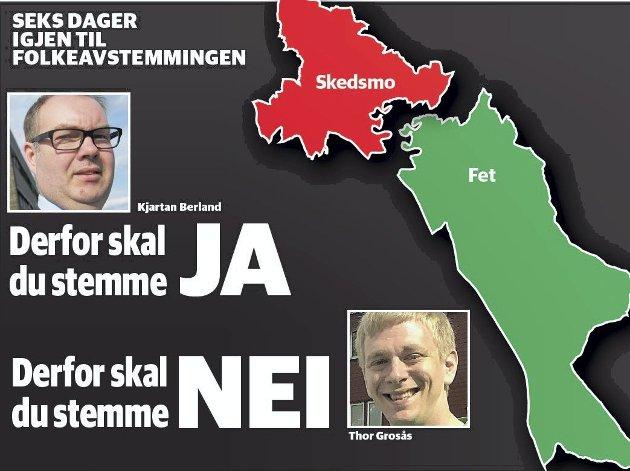 DUELL: Innsender er ikke tilfreds med ja-sidens argumenter i Romerikes Blad 24. mai.
