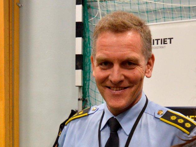 NY TITTEL: Lensmann i Flekkefjord og Kvinesdal, Asbjørn Skåland, skal kalle seg Politiavdelingsleder.
