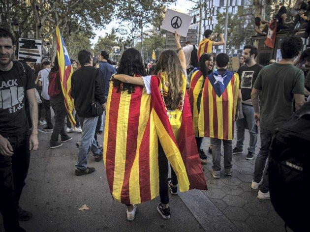 Hvis flertallet i en region ønsker frihet og selvstendighet, er ikke det en selvsagt demokratisk rettighet? Virkeligheten er som vanlig mer komplisert, skriver spaltist Chris Tvedt.