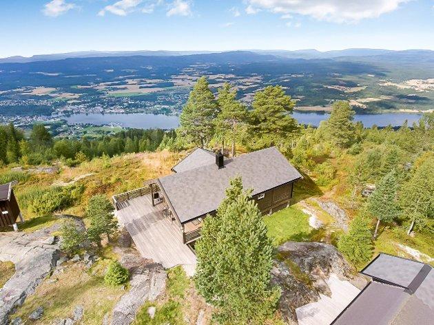 Hytte på Hvalsnatten ved Øståsen i Vikersund.