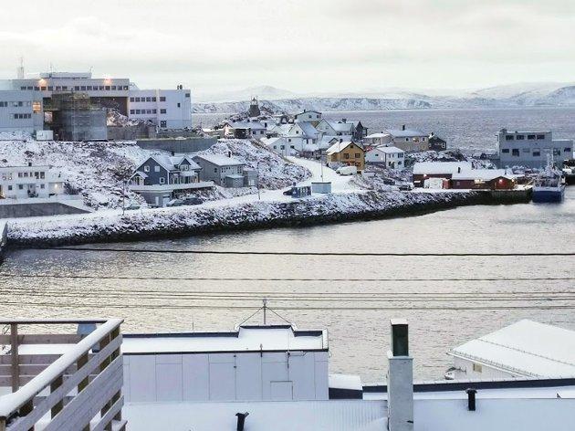 Området nedenfor Fiskerfagskolen har arealer for et nytt boligprosjekt slik som Fjæraveien. Her et potensial for byutvikling.
