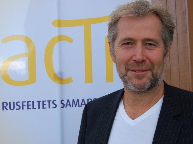 UROA: Styreleiar i rusfeltets samarbeidsorgan Actis, Arne Johannessen, er uroa over følgjene som den nye rusreforma kan få.