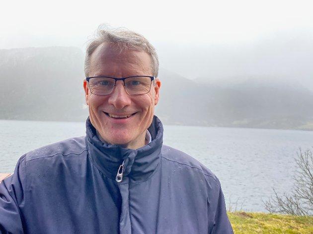 NØGD: Stortingskandidat Olve Grotle (H) trur ei eindring i opsjonsordninga vil få fleire til å flytte til distrikta.