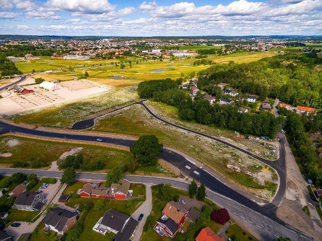 De nye tomtene i Oldenborglia ligger ved Torsnesveien og ridesenteret på Bekkevold.