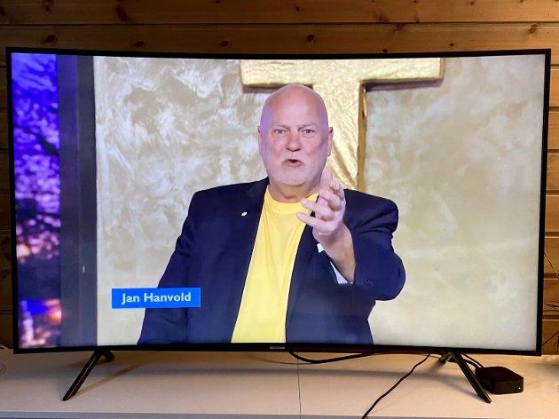 SÅ, OG DU SKAL HØSTE: Redaktør hos Visjon Norge, Jan Hanvold, har fått mye kritikk i flere år, men er fortsatt ikke redd for å be om bidrag fra sine lojale tv-seere.