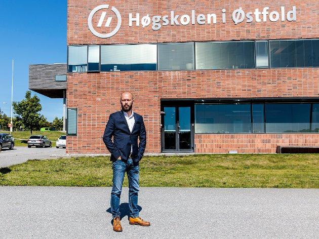 GRUPPELEDER: Arve Sigmundstad i Halden Arbeiderparti.