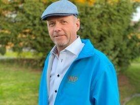Owe Ingemann Waltherzøe leder Industri- og Næringspartiet (INP)