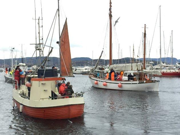 LITE FANGST: Det var godt oppmøte, men lite fangst under havfiske-NM i Holmestrand sist helg.  Bekrefter det vi lenge har visst, skriver Knut Adolfsen, som ønsker verneområder i Oslofjorden.