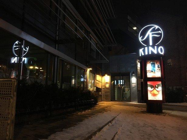 SF Kino Moss på kveldstid