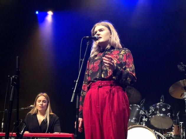 NYKOMMER: Lisa Skoglund er en artist som man fort skjønner kommer til å vare lenge og vil holde seg godt, mener Nordlys' anmelder.