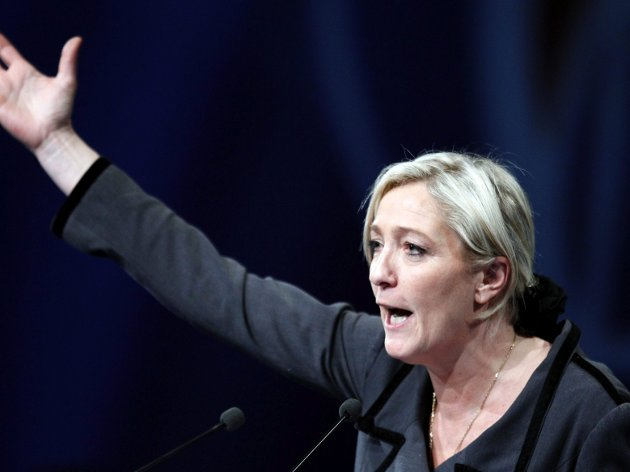 Arkivbilde: Marine Le Pen