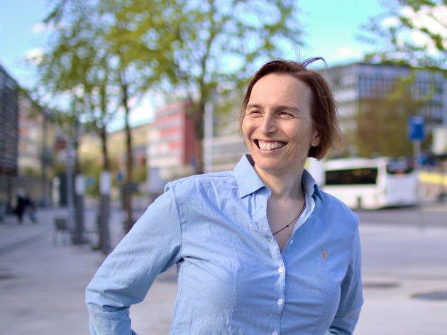Karina Ødegård, stortingskandidat i Oppland for MDG, mener valgkampen kan bli i overkant fargerik.