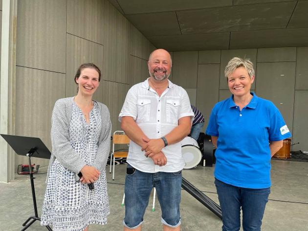 Dirigenter og forman: Magdalena Sendrowicz er dirigent for aspirantene, Tommy Bakkelund er dirigent for hovedkorpset og Pia Bråthen er forman i skolekorpset.