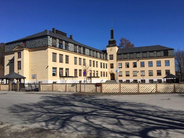 SÆRPREG: - Framtidig befolkningsvekst og en levende by vil kreve en barneskole i sentrum, mener Tove Mette Pedersen (V).