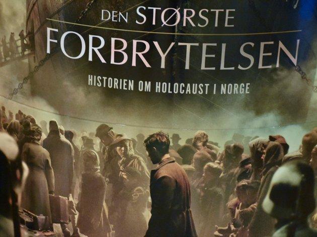 HELT AUTENTISK: Den største forbrytelsen forteller historien om det som skjedde da norske jøder ble arrestert, deportert og drept i Auschwitz.