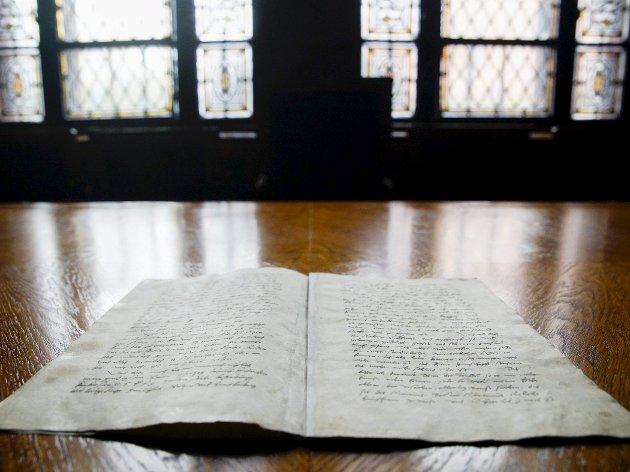 Luthers testamente: Det går an å se en linje fra Martin Luthers heroiske kamp for sannheten, slik han så det, til de verdiene vi i dag hyller som grunnlaget for vårt samfunn: menneskeverd og demokrati. Foto:  NTB Scanpix